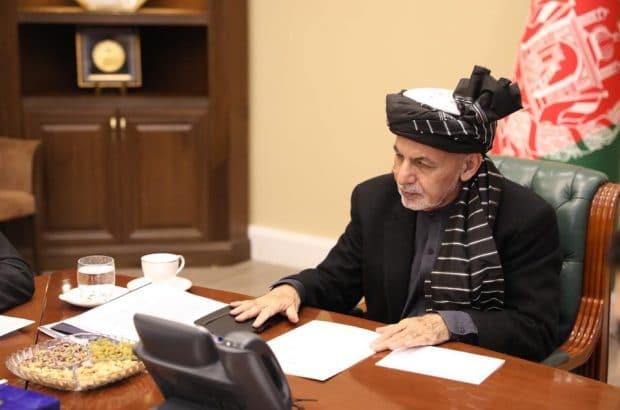 رییس جمهور غنی نماینده وزارت خارجه ایران را به حضور پذیرفت