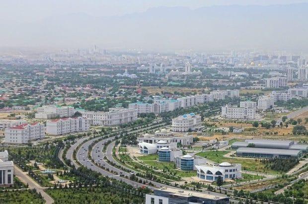 عشقآباد، شهر گردشگری کشورهای آسیامیانه