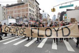 شورش های سراسری در امریکا به روایت تصویر