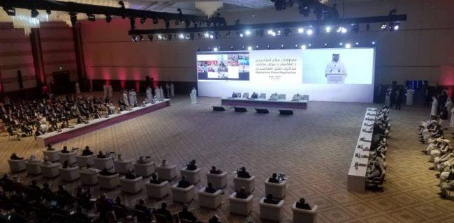 اعضای هیئتهای مذاکره کننده دولت و گروه طالبان تکمیل شد