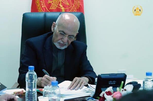 قدردانی رئیس جمهور غنی از شجاعت و قهرمانی اردوی ملی