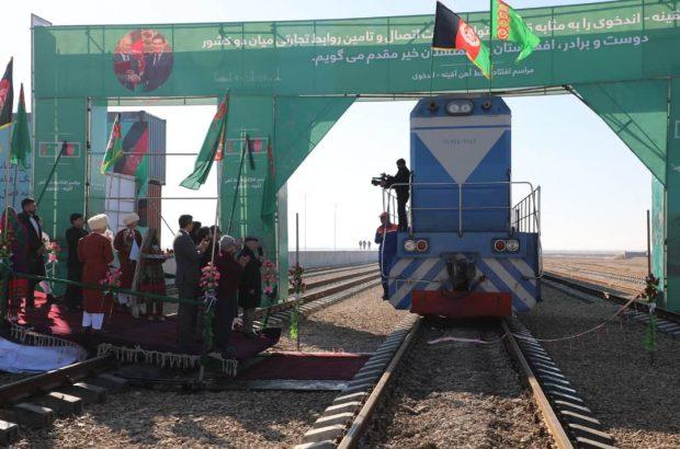 افتتاح سه پروژۀ مشترک اقتصادی میان افغانستان و ترکمنستان