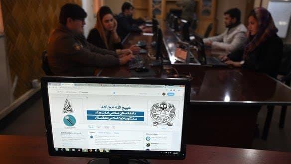 جنگ روانیِ رباتهای تویتری گروه طالبان