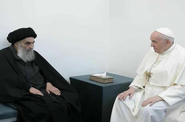 دیدار پاپ از نجف و مسئولیت علمای اسلام