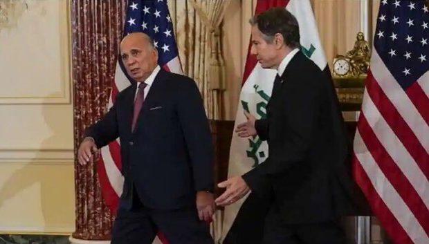 فؤاد حسین در واشنگتن: نیروهای عراق همچنان به کمکهای امریکا نیاز دارند